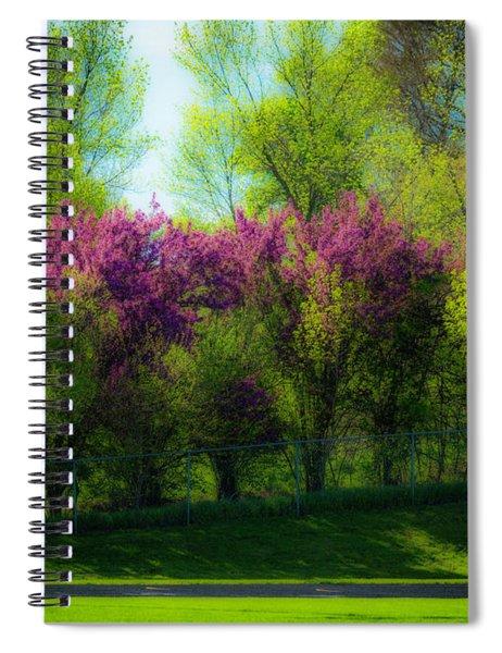 Nebraska Springtime Spiral Notebook by Edward Peterson