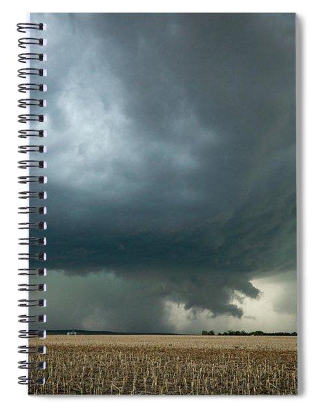 Nebraska Storm Spiral Notebook