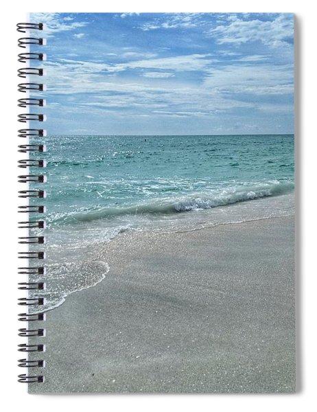 Needs Footprints Spiral Notebook