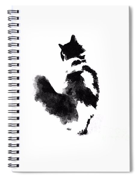 Neko Cat Spiral Notebook
