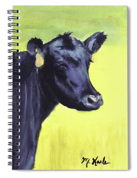 Nelson's Cow Spiral Notebook