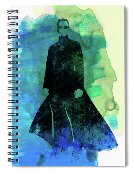 Neo Watercolor Spiral Notebook