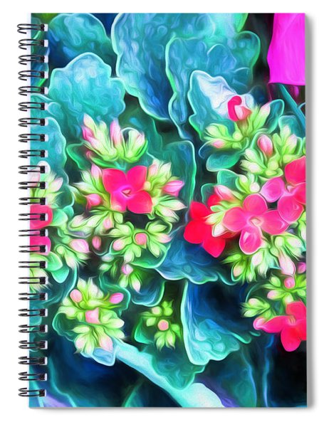 New Blooms Spiral Notebook