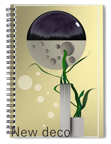 New Deco Spiral Notebook