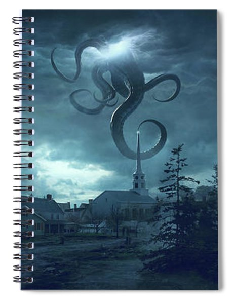 New England Spiral Notebook