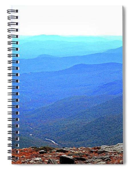 Spiral Notebook featuring the photograph New Hampshire High Point by Patti Whitten