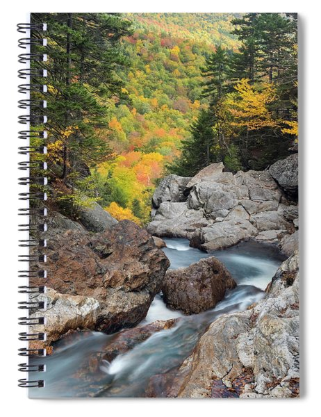 New Hampshire Wilderness-autumn Scenic Spiral Notebook