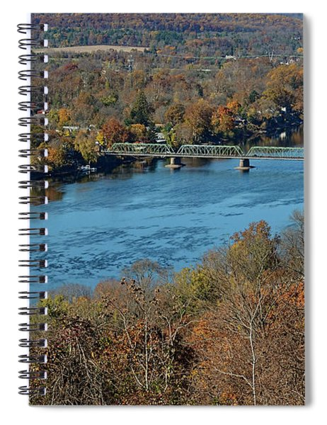 New Hope Pa From On High Spiral Notebook