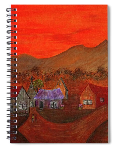 New Mexico Dreaming Spiral Notebook