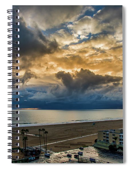 New Sky After The Rain Spiral Notebook