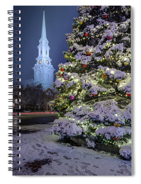New Snow For Christmas Spiral Notebook
