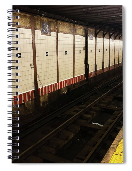 New York City Subway Line Spiral Notebook