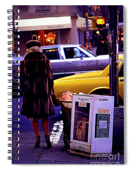 New York Mink Spiral Notebook