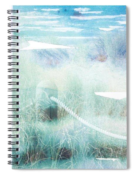 New Zealand Beachscape Spiral Notebook