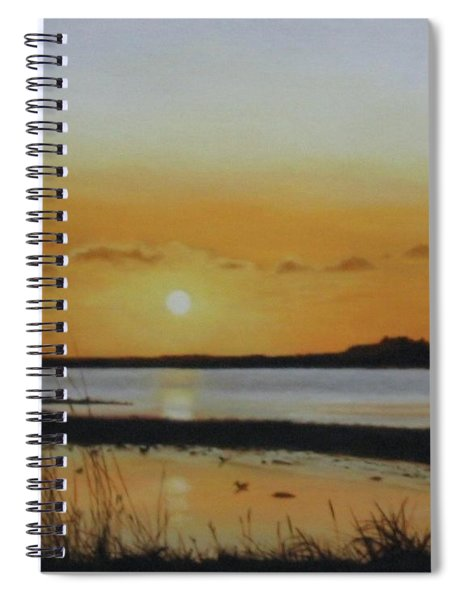 Newfoundland Sunset Spiral Notebook
