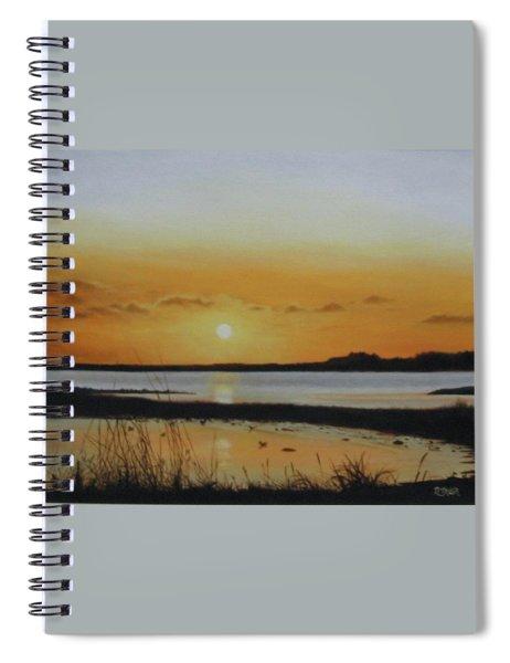 Newfoundland Sunset Spiral Notebook