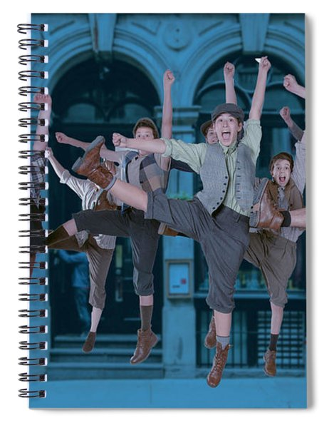 Newsies At The Artisan Center Theater Spiral Notebook