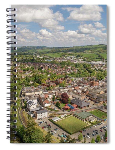 Newtown Powys Wales Spiral Notebook