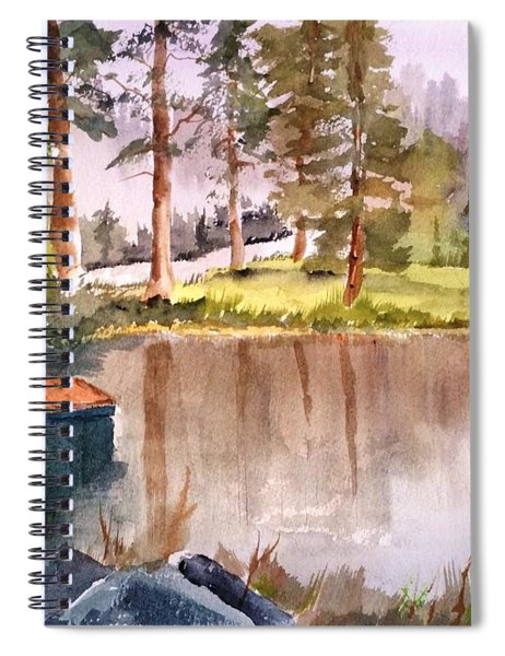Nez Perce Lake Spiral Notebook
