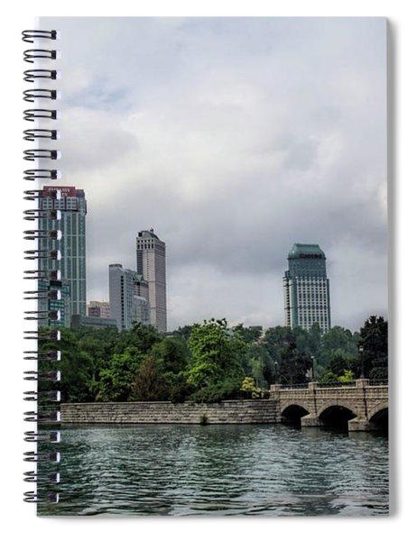 Niagara Falls Ontario Canada Skyline Spiral Notebook