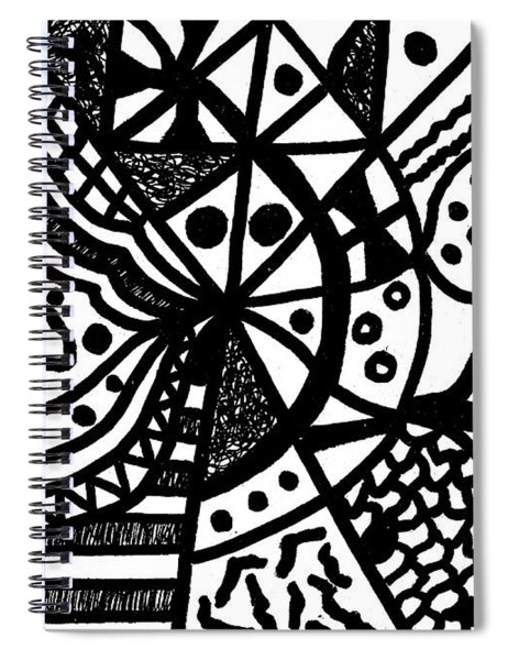 Night And Day 10 Spiral Notebook