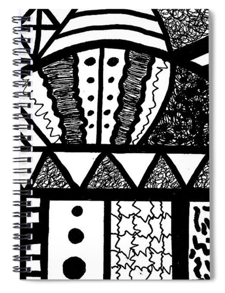 Night And Day 15 Spiral Notebook