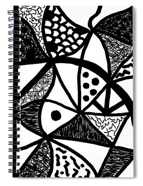 Night And Day 16 Spiral Notebook