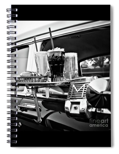Night At The Drive-in Movies Spiral Notebook