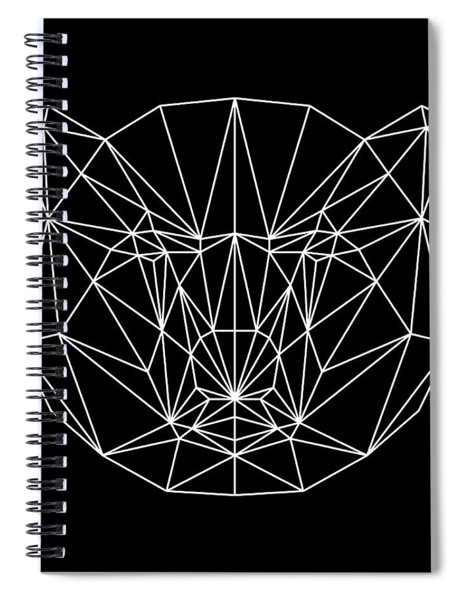 Night Bear Spiral Notebook