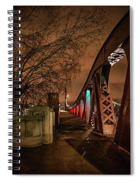 Night Bridge Spiral Notebook