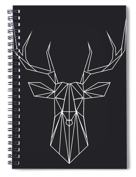 Night Deer Spiral Notebook
