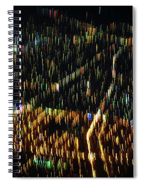 Night Flight Spiral Notebook