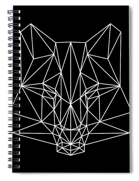 Night Fox Spiral Notebook