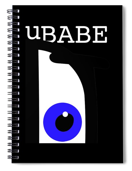 Night Of The Babe Spiral Notebook