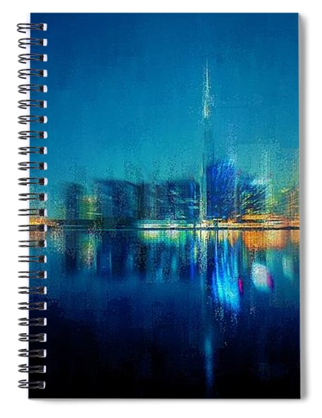 Night Of The City Spiral Notebook