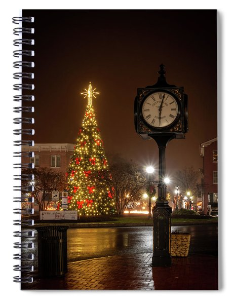 Night On The Square Spiral Notebook
