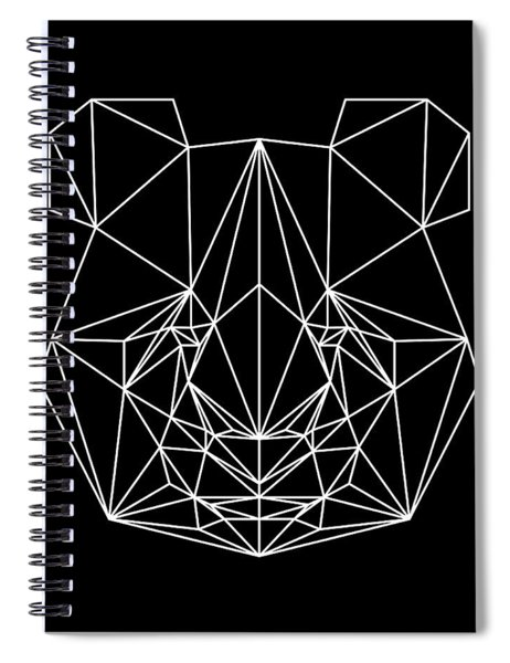 Night Panda Spiral Notebook