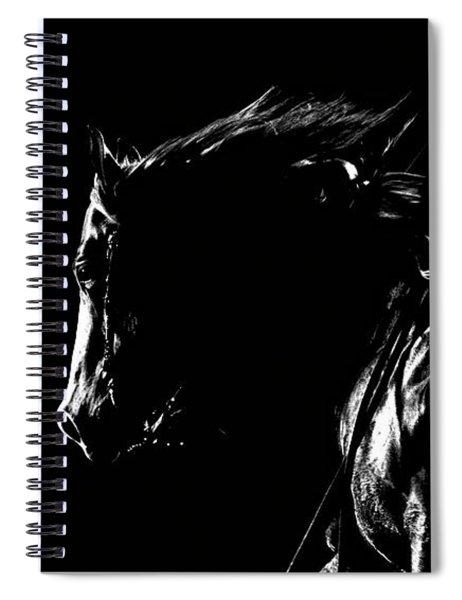 Night Riders Spiral Notebook