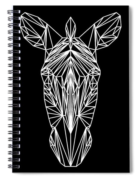 Night Zebra Spiral Notebook