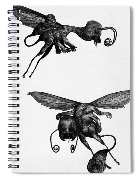 Nightmare Stinger - Artwork Spiral Notebook