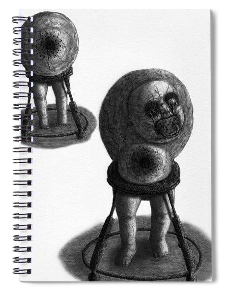 Nightmare Walker - Artwork Spiral Notebook