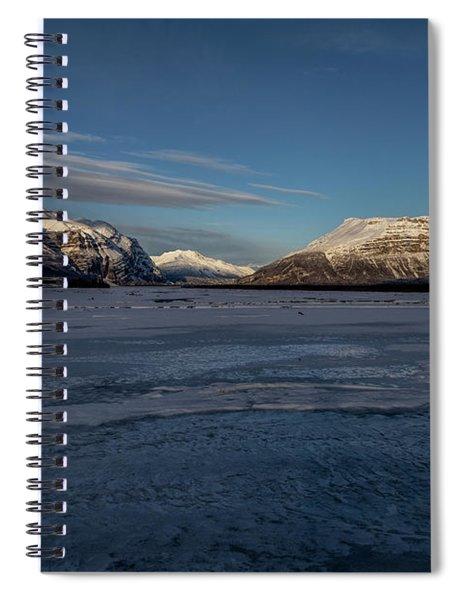 Nizina River Winter Spiral Notebook