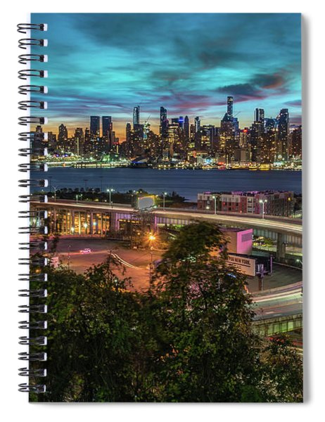 Nj And Ny Sunrise Spiral Notebook