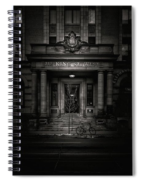 No 212 King Street West Toronto Canada Spiral Notebook