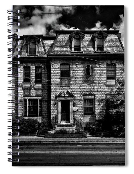 No 370 Dundas Street West Toronto Canada Spiral Notebook