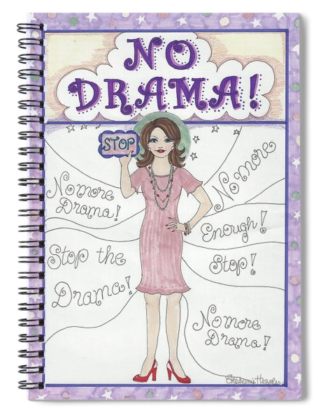 No Drama Spiral Notebook