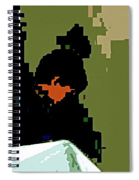 No Title Spiral Notebook