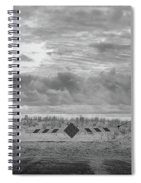 No Vehicles Spiral Notebook