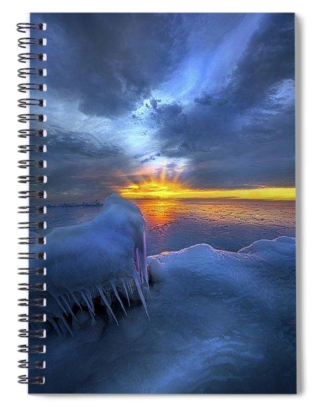 No Winter Skips Its Turn. Spiral Notebook