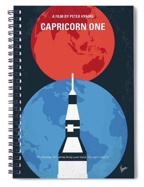 No1078 My Capricorn One Minimal Movie Poster Spiral Notebook